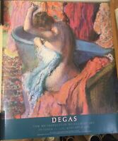 "Edgar Degas ""Seated Bather Drying Herself"" MOMA Print 30 x 25 1/2"