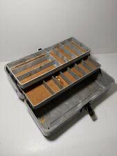 Vintage Retro Bakelite Tackle Tool Storage Box - Fishing
