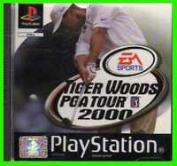 TIGER WOODS 2000  playstation ea sport ITALIANO ps1 ORIGINALE completo u-1 pal