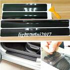 Parts Accessories Carbon Fiber Car Scuff Plate Door Sill 5d Sticker Protector 4x