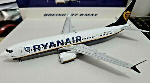 Ryanair Boeing B737-8 MAX 200 Sharklet EI-HAW - 1:200 Die Cast - JC Wings 200