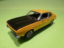MINICHAMPS FORD CAPRI RS 1970-72 - YELLOW 1:43 - EXCELLENT CONDITION