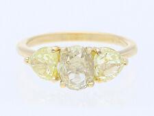 GIA Expertise Ring 1,01 Karat Diamant 1,25 Karat Diamanten 750 Gold neu