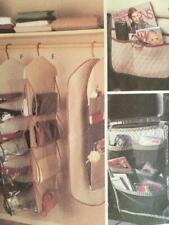 McCalls Sewing Pattern 8260 Cupboard Organiser Bag Caddy Uncut Crafts