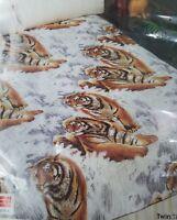 Vintage Blanket Owen Twin Tigers Full Twin Size Beds 72x90 5th Generation NIP