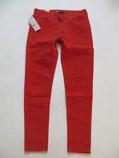 Levi's Damen Cord Jeans Hose, W 32 /L 29, rot, NEU ! Legging Cordhose, 2. Haut !