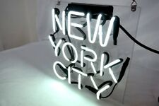 'NEW YORK CITY' Custom Neon Sign Store Decor Porcelain Boutique Beer Gift Slogan