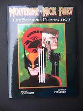 Wolverine - Nick Fury:Scorpio Connection 1989 HC NM Chaykin Art Graphic Novel