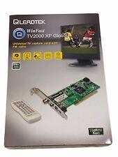 LEADTEK WinFast TV2000 XP Global Universal TV Capture card FM radio accessories