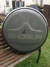 Mitsubshi Pajero Shogun Spare Wheel Chrome Cover Edgetrim Edge Trim Seal