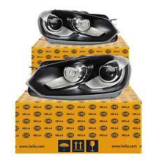 BI XENON FANALE Set VW GOLF VI 1 K 08-12 HELLA Le luci diurne fari INCURVATI