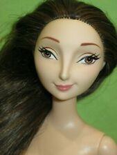 DISNEY Barbie Doll BRAVE Merida Mother QUEEN ELINOR Brown Hair NUDE DOLL Smirk
