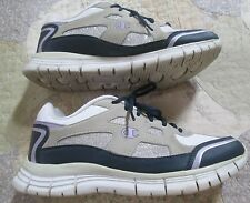 fd966b26b7edf1 Champion TAN BLACK SILVER LILAC Athletic Sneakers Wo s Sz 9