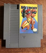 Metroid Nintendo NES Video Game Tested Working *Rare Yellow Label Cartridge*