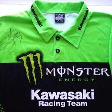 James Bubba Stewart Signed Autograph Monster Energy Kawasaki Racing Jersey Shirt