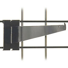 Gridwall Shelf Bracket 14 Inch in Black finish - Box of 25