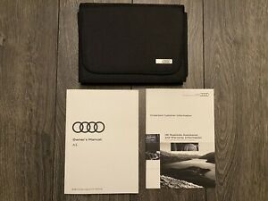 AUDI A5 S5 RS CABRIOLET COUPE SPORTBACK OWNERS MANUAL HANDBOOK SET 2016-2020 8W6
