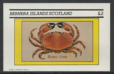 GB Locals - Bernera 3471 - 1982 SHELL FISH deluxe sheet unmounted mint