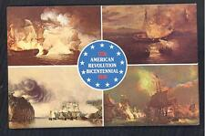 Vintage Post Card LOT 12 American Bicentennial 1776-1976 UNCIRCULATD 1975 ISSUE