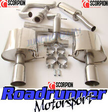 Scorpion Mondeo 2.5 Turbo Exhaust System Stainless Cat Back & Sports Cat Hatch