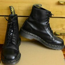 Dr Martens 1460, Vintage Made in England Black Shoes, Size UK 6