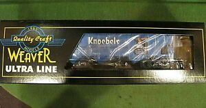 Rare...WEAVER ULTRA LINE 3 RAIL Knoebels  Blue  ~ New