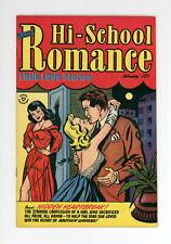 HI-SCHOOL ROMANCE #19  VF   RARE ISSUE, ONLY 2 ON CGC - GOLDEN AGE GGA 1953