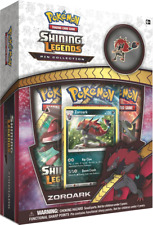 Pokemon - Shining Legends Zoroark Collection Pin and Booster Box