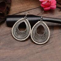 Unique Fashion Vintage Bohemia Boho Hook Ethnic Women Waterdrop Dangle Earrings