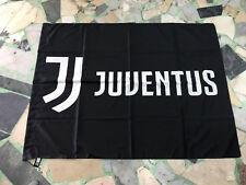 1 BANDIERA JUVENTUS UFFCIALE 140x100cm OFFICIAL FLAG NUOVO LOGO 2018 DYBALA