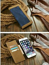 APPLE I PHONE 6  COVER JEAN DESIGN WALLET PHONE CASE . LOVELEY AND COMPACT