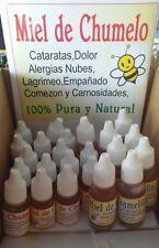 Miel de chumelo chumelito gotas para ojos 12 botellas 10 ml PRECIO DE MAYOREO