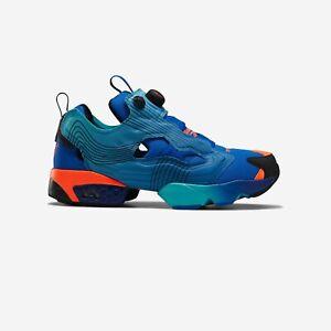 NEW Reebok Instapump Fury Fy0826 Blue Black Mens Pump Shoes n1