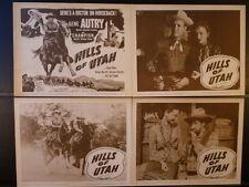 R57/1951 HILLS OF UTAH NM 8 LC SET- GENE AUTRY WESTERN