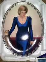 THE Enchanting Princes DIANA Bradford Exchange - Bill Chambers DECORATIVE PLATE