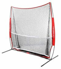 PowerNet 7x7 ft Portable Tennis and Pickleball Multi-Sport Trainer Net and Frame
