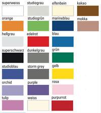3er Satz Fotostudio Hintergrund Karton 2,72x11, freie Farbwahl