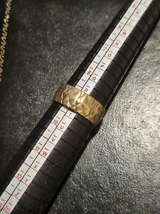 9ct gold vintage Starburst Ring