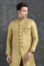 Mens Traditional Bollywood Wear Pakistani Semi Indo Western Dress From India