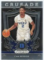 2019 Prizm Draft Picks Crusade Cam Reddish Rookie Card #43 Duke University