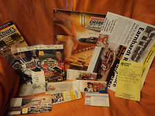 2006 Dodge Charger 500 Darlington Official Program, Tickets, pitnotes