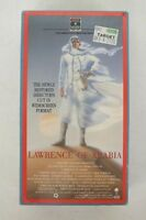 Lawrence of Arabia Restored Version 1989 2-VHS Cassettes NEW Fast Shipping LOOK