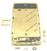 Apple iPhone 4 4G Mittelrahmen Mittel Rahmen Gehäuse Middle Frame Bezel Gold Neu