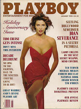 PLAYBOY JANUARY 1990-A - PEGGY MC INTAGGART - JOAN SEVERANCE