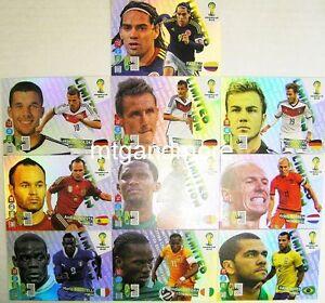 Adrenalyn XL - Limited Edition Card aussuchen - FIFA World Cup Brazil 2014 WM