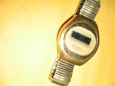 Vintage Elgin Watch Men's Elgin Sold State A M/S  B H/M Speidel Band FREE SHIP
