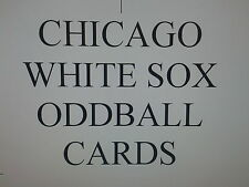 CHICAGO WHITE SOX  - 50 DIFFERENT ODDBALL cards