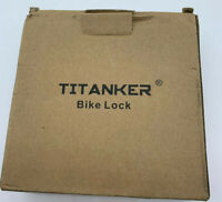 Titanker Bike Lock Cable 4-Feet Bike Cable Basic Self Coiling Resettable