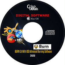 NEW 2020 Burn CD With ISO Advanced Burning Software For Mac COPY AUDIO