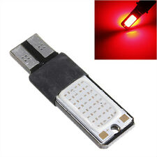 10x RED T10 COB LED Tail Light Brake Signal Canbus Error Free Car Lamp W5W Bulb